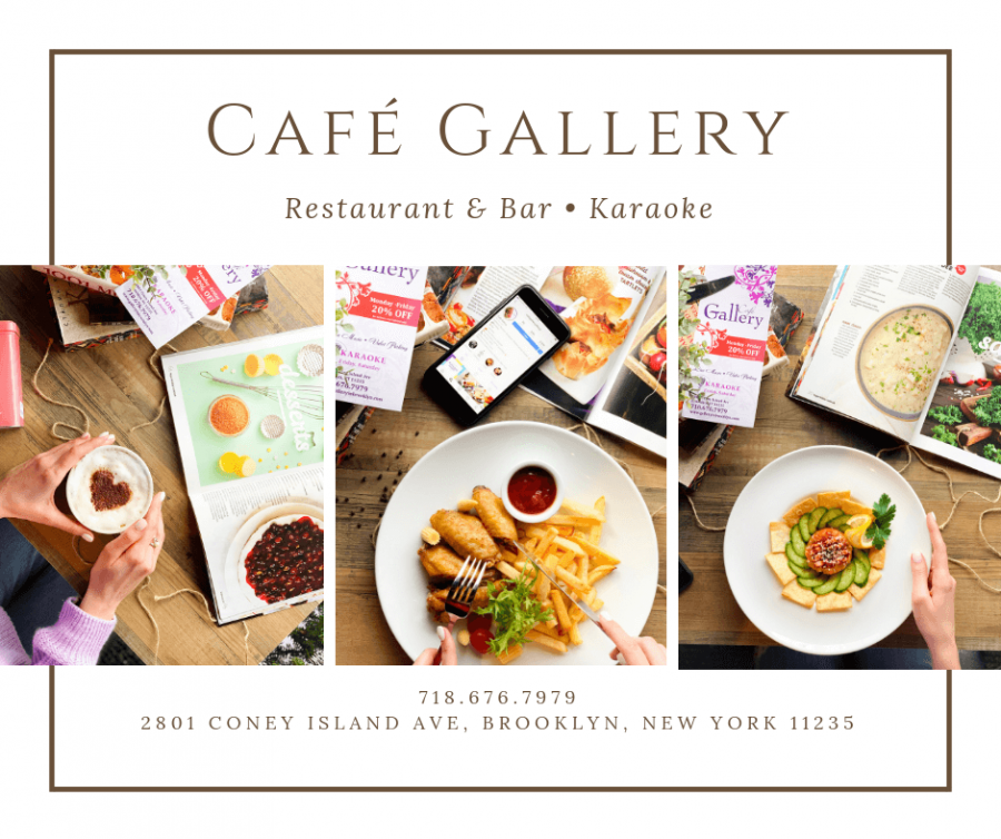 Cafe Gallery site updated!